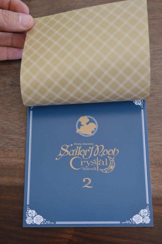 Sailor Moon Crystal Season III Blu-Ray - Vol. 2 - Special Booklet 2 - Title page