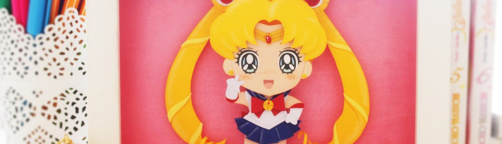 Sailor Moon paper cut