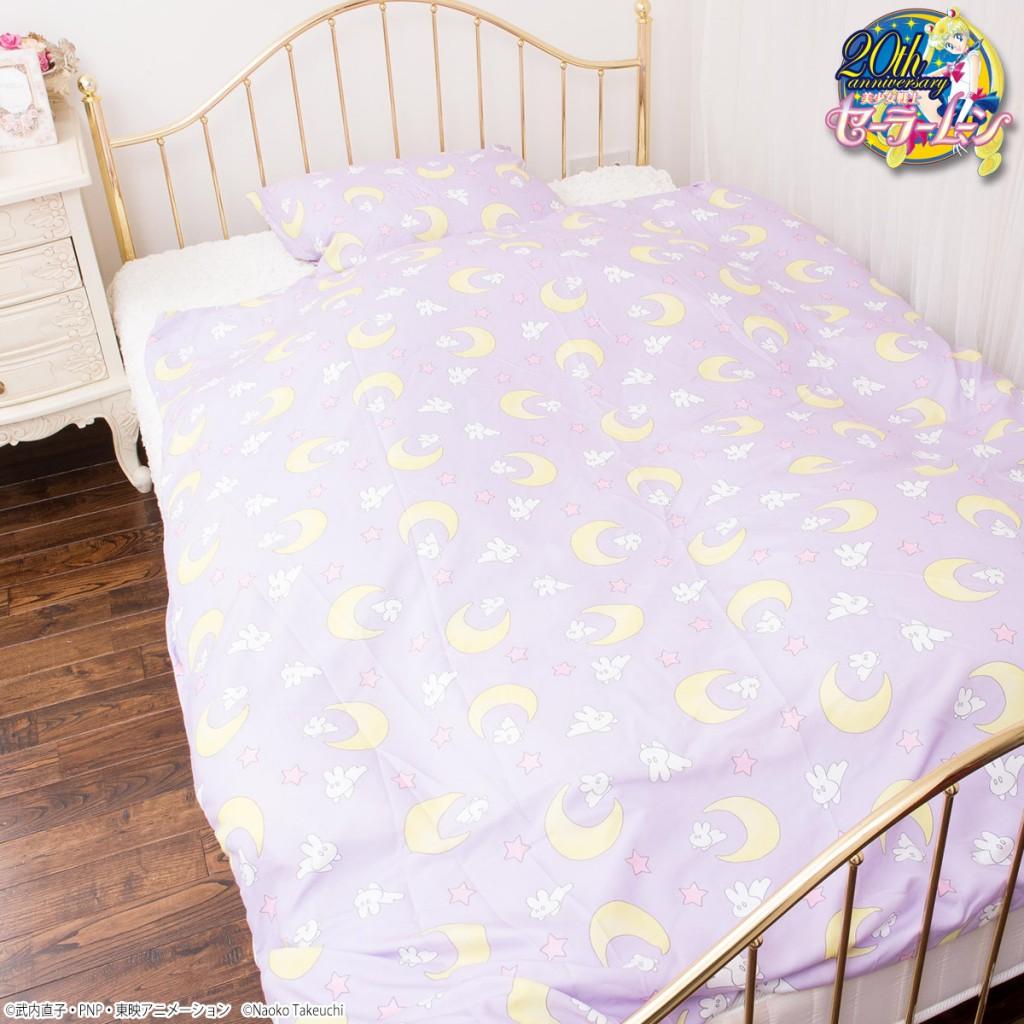 Sailor Moon comforter and pillowcase