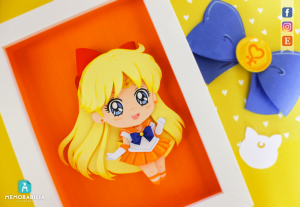 Sailor Venus paper cut