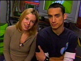 Sugar and Carlos on YTV's The Zone