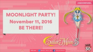 Moonlight Party on November 11th