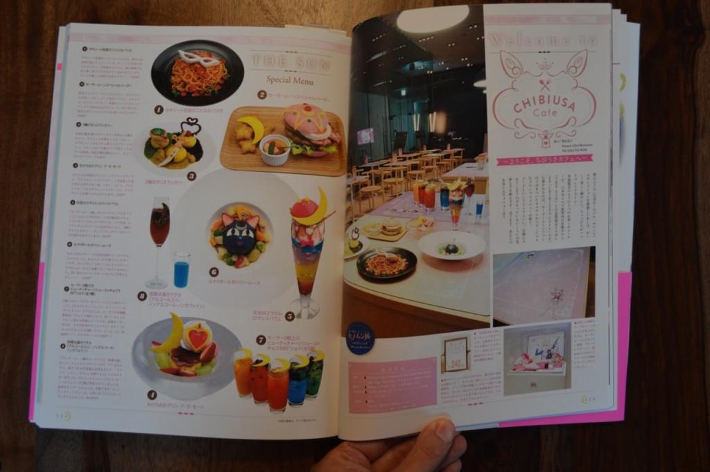 Sailor Moon 20th Anniversary Book - Chibiusa Cafe
