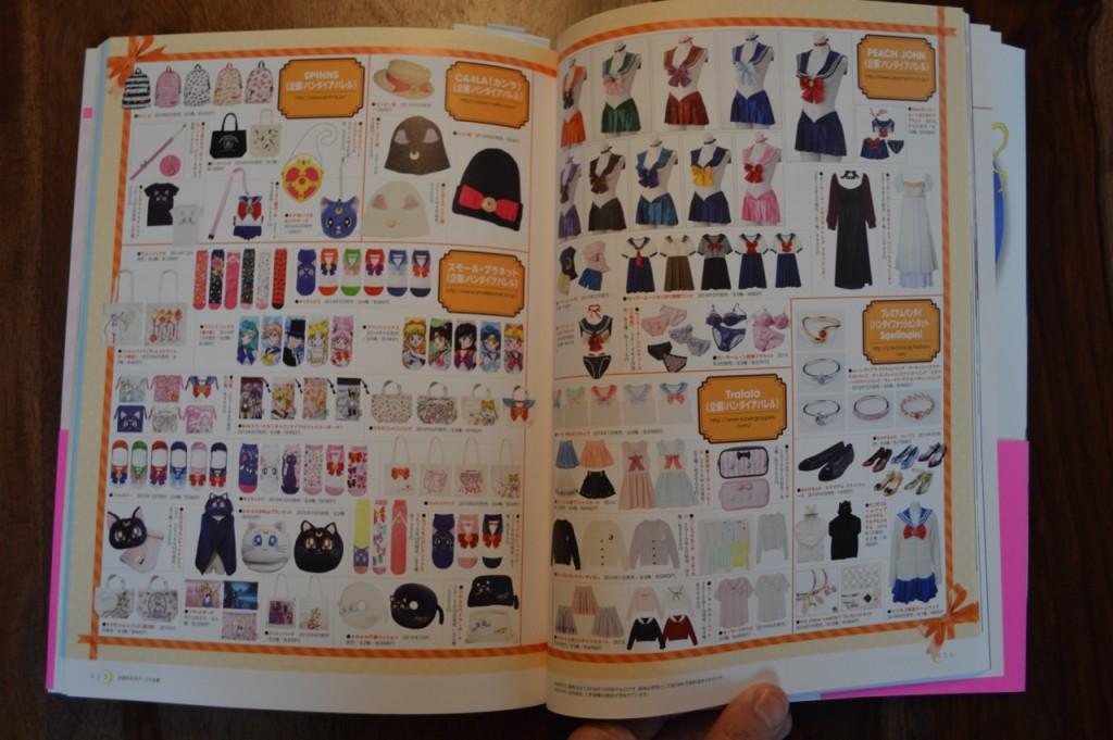 Sailor Moon 20th Anniversary Book - Clothes