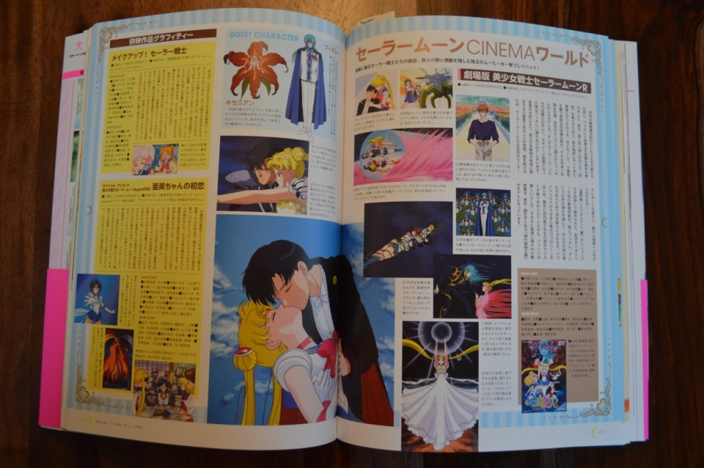 Sailor Moon 20th Anniversary Book - Sailor Moon R movie
