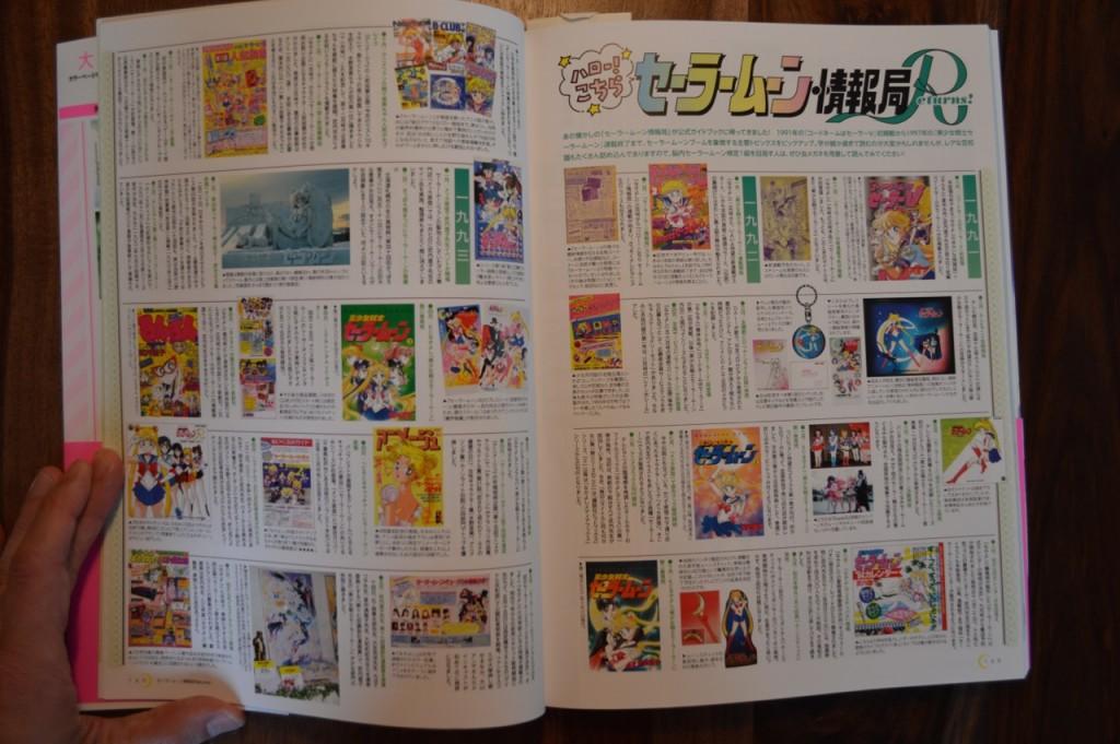 Sailor Moon 20th Anniversary Book - Sailor Moon Returns