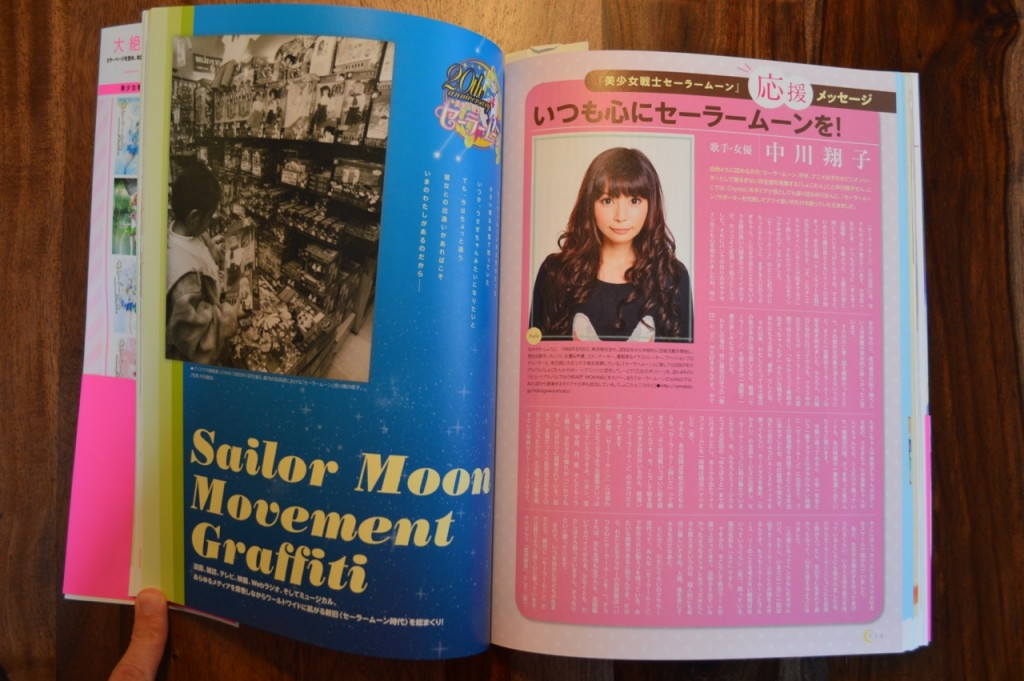 Sailor Moon 20th Anniversary Book - Shoko Nakagawa Interview