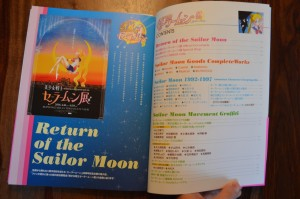 Sailor Moon 20th Anniversary Book - Table of Contents & Return of The Sailor Moon