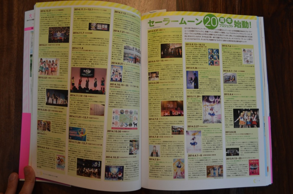 Sailor Moon 20th Anniversary Book - Timeline