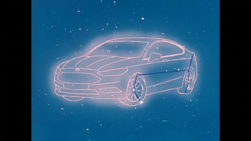 Sailor Moon Dreams of the Ford Fusion Constellation
