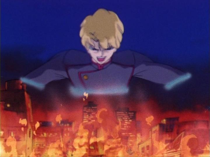 Sailor Moon episode 13 - Jadeite destroys Tokyo