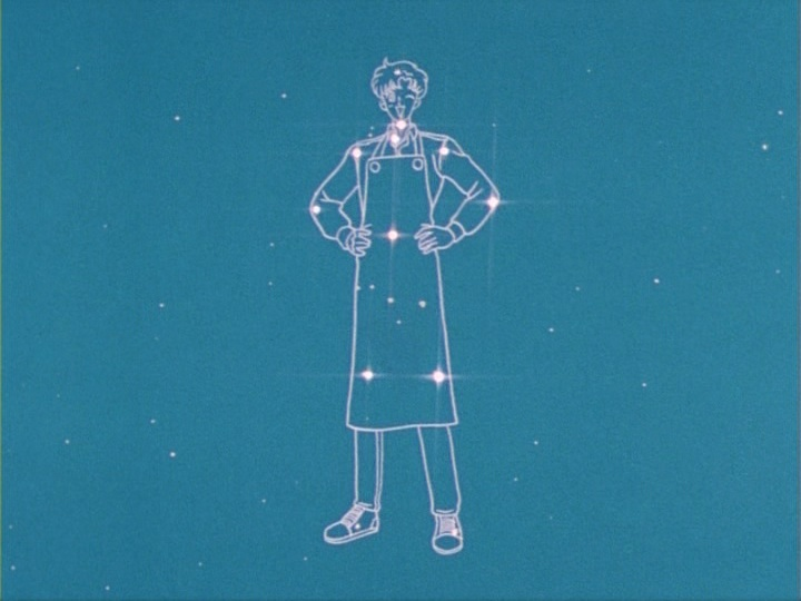 Sailor Moon episode 13 - The Motoki constellation