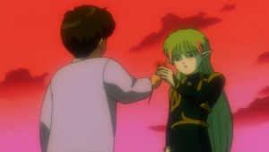 Sailor Moon R: The Movie - Mamoru and Fiore