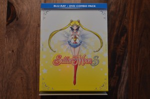 Sailor Moon S Part 1 Blu-Ray - Cover unwrapped