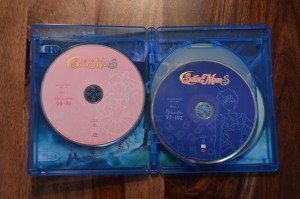Sailor Moon S Part 1 Blu-Ray - Discs