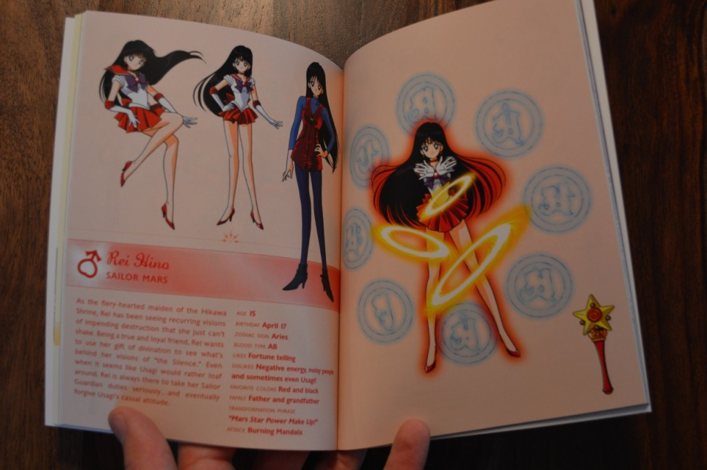 Sailor Moon S Part 1 Blu-Ray - Limited Edition Book - Rei bio