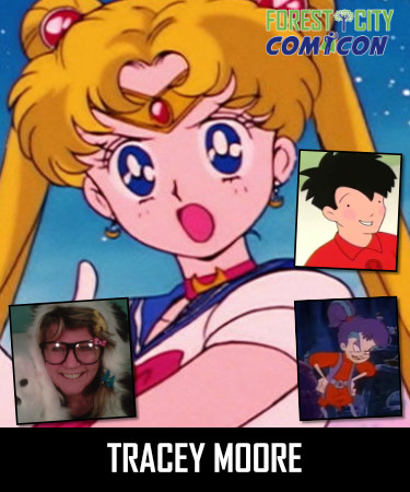 Tracey Moore the voice of Sailor Moon