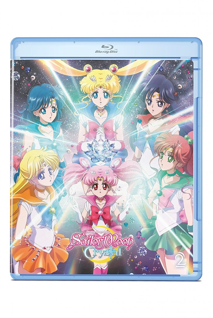 Sailor Moon Crystal Set 2 Standard Edition Blu-Ray