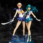 Sailor Uranus and Sailor Neptune Figuarts ZERO figures
