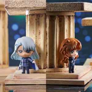 Dark Kingdom Petit Chara figures - Kunzite and Zoisite