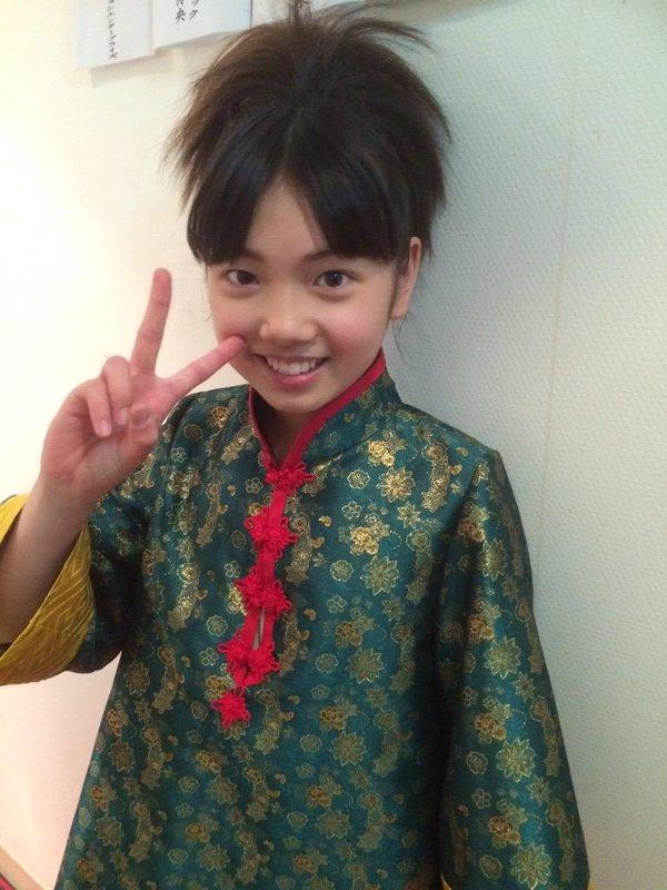 Mirai as Chiriko in the Fushigi Yuugi stage play