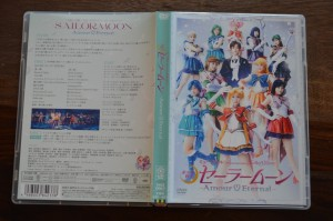 Sailor Moon Amour Eternal Musical DVD - Front and back covers