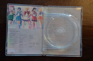 Sailor Moon Amour Eternal Musical DVD - Inside