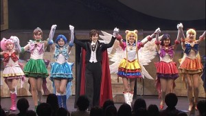 Sailor Moon Amour Eternal Musical DVD - Taking a bow