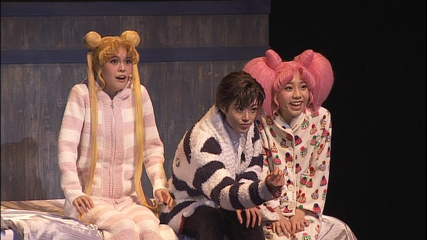 Sailor Moon Amour Eternal Musical DVD - Usagi, Mamoru and Chibiusa