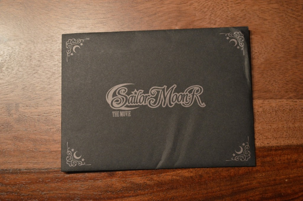Sailor Moon R The Movie - Envelope