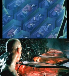 Sailor Moon SuperS The Movie and The Matrix - Dream coffins are basically The Matrix