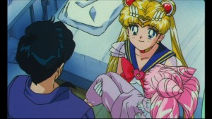 Sailor Moon SuperS: The Movie - Usagi choses reality