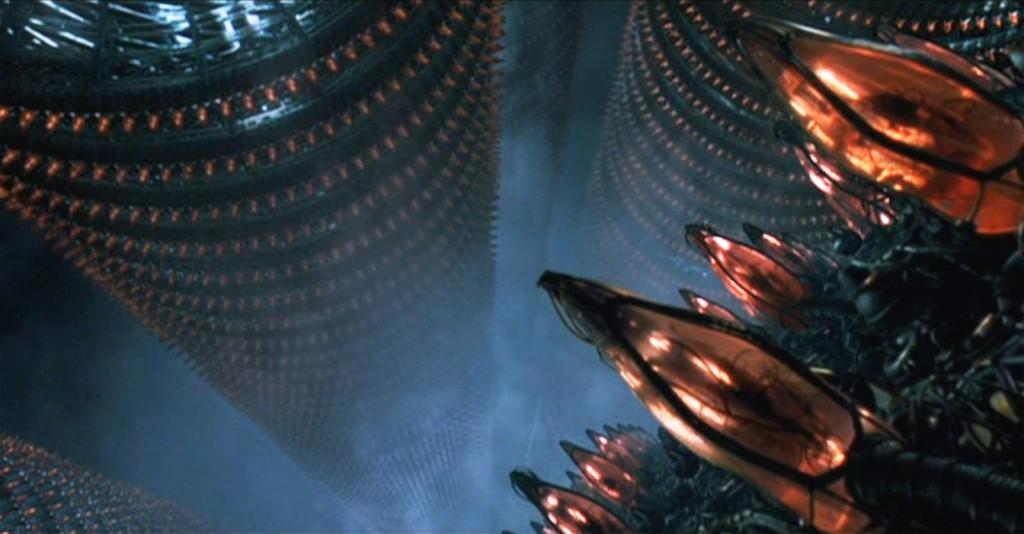 The Matrix - Pods of humans