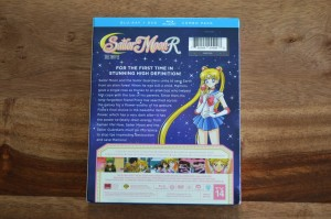 Sailor Moon R The Movie Blu-Ray - Back