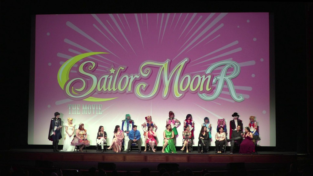 Sailor Moon R The Movie Blu-Ray - LA Premiere Q & A