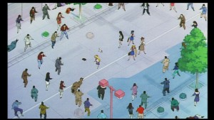 Sailor Moon R The Movie - Japense R2 DVD 2002 - Wide shot of the street