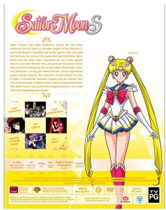Sailor Moon S Part 2 Blu-Ray - Back