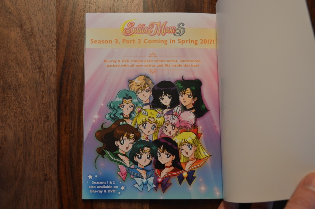 Sailor Moon S Part 2 coming in Spring 2017