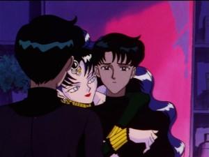 Sailor Moon SailorStars episode 168 - Mamoru and Nehelenia