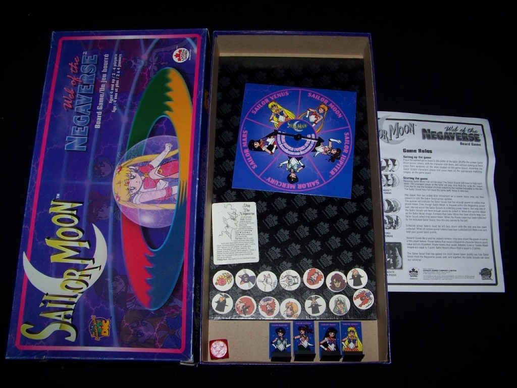 Sailor Moon Web of the Negaverse game