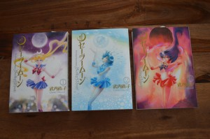 Sailor Moon Complete Edition Manga volumes 1, 2 and 3