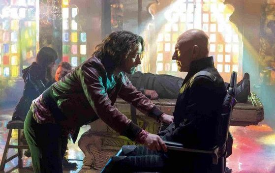 Professor Xs - James McAvoy and Patrick Stewart