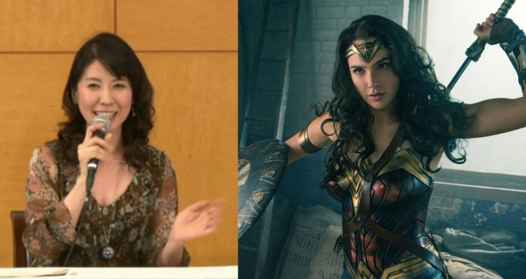 Kotono Mitsuishi is not the Japanese voice of Wonder Woman