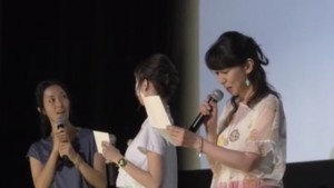 Sailor Moon 25th Anniversary Usagi's birthday live event - Reading a letter from Naoko Takeuchi