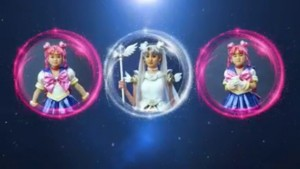 Sailor Moon Le Mouvement Final musical trailer - Sailor Cosmos and Sailor Chibi Chibi