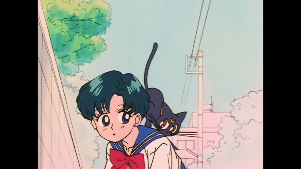 Sailor Moon episode 8 - Japanese Blu-Ray - Ami and Luna