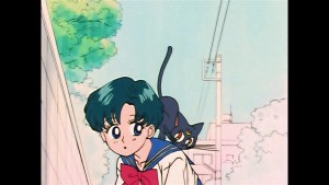 Sailor Moon episode 8 - Viz Blu-Ray - Ami and Luna