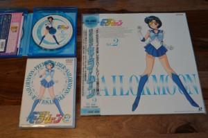 Sailor Moon Japanese Blu-Ray Vol. 1 - Comparison between Laserdisc, Japanese DVD and Blu-Ray