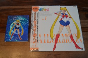Sailor Moon Japanese Blu-Ray Vol. 1 - Comparison between Laserdisc and Blu-Ray