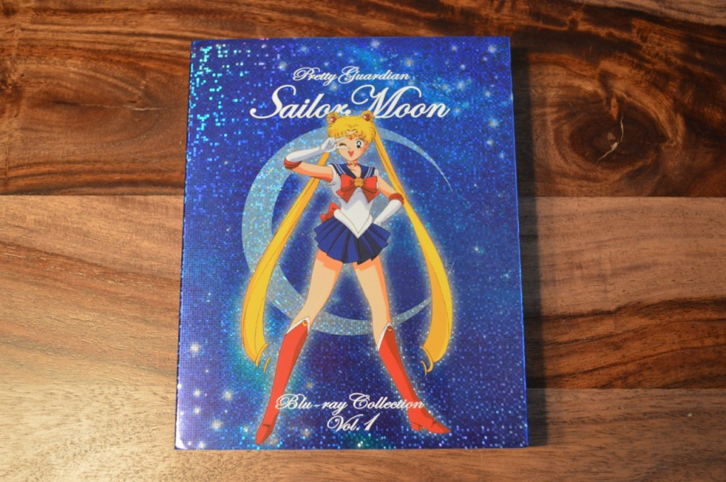 Sailor Moon Japanese Blu-Ray Vol. 1 - Cover